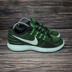 Nike Lunartempo 2 Running Black Green Mint sz 9.5
